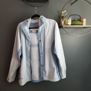 Spring  light blue Columbia jacket
